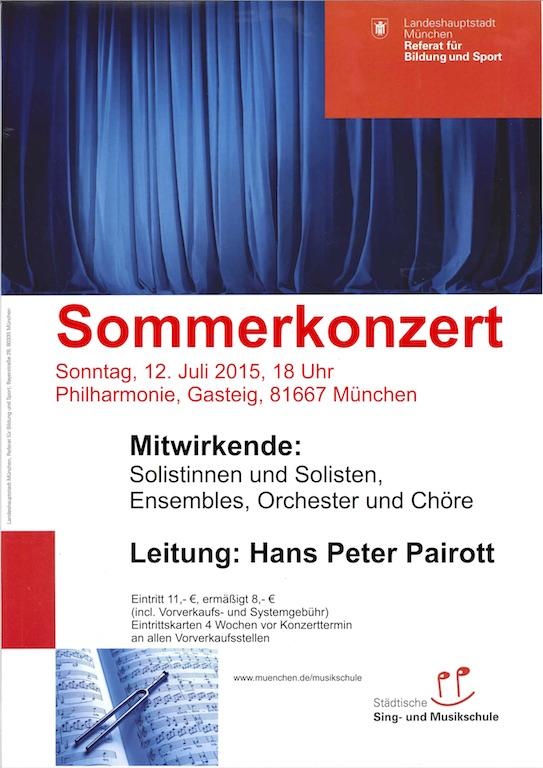150712 Sommerkonzert